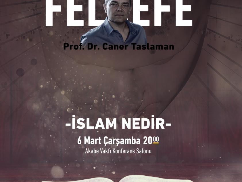 Prof. Dr. Caner Taslaman ile Din, Bilim, Felsefe dersleri