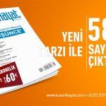 Kur'ani Hayat Dergisi 58. sayısı çıktı!