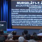 Envâru'l Kur'an – Murselât Sûresi (1-19. Ayetler) Dersi Gerçekleşti