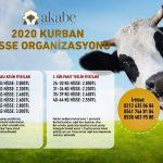 2020 KURBAN HİSSE ORGANİZASYONU